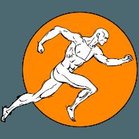 Logo laufender Mann
